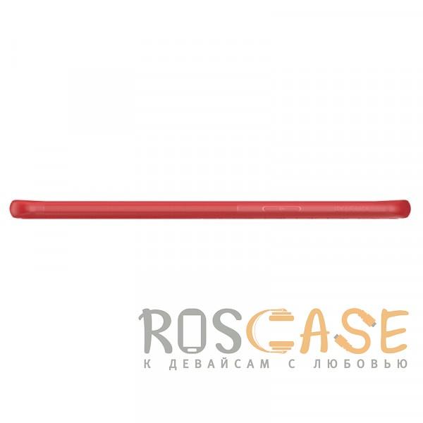 Фотография Красный Nillkin Weave | Ультратонкий чехол для Samsung Galaxy S9 с дополнительной защитой углов
