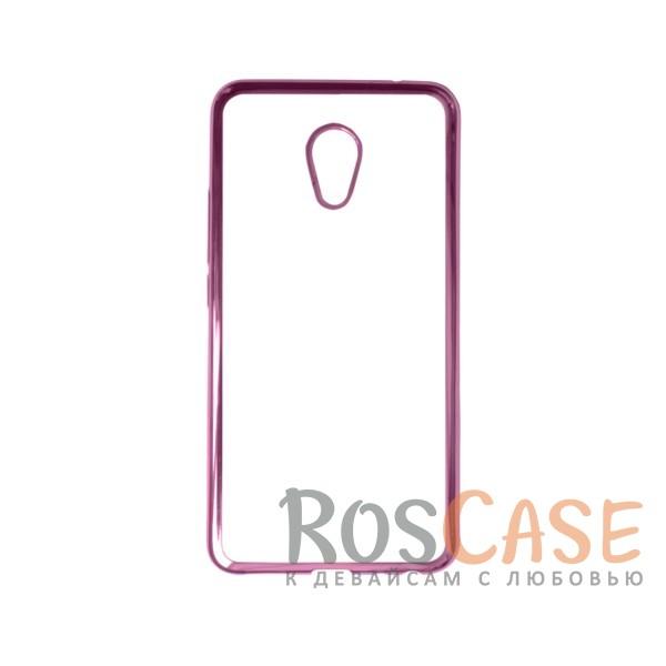 Прозрачный силиконовый чехол для Meizu MX6 с глянцевой окантовкой (Розовый)Описание:совместим с Meizu MX6;материал - термополиуретан;тип - накладка.<br><br>Тип: Чехол<br>Бренд: Epik<br>Материал: TPU