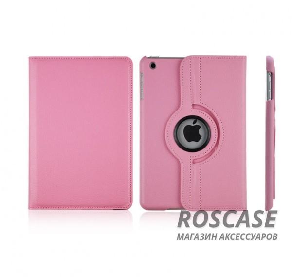 Кожаный чехол-книжка TTX (360 градусов) для Apple iPad mini (Retina)/Apple IPAD mini 3 (Розовый)Описание:производитель  - &amp;nbsp;TTX;разработан для Apple iPad mini (Retina)/Apple IPAD mini 3;материалы  -  кожзам, микрофибра;форма  -  чехол-книжка.&amp;nbsp;Особенности:вращается на 360 градусов;можно трансформировать в подставку;яркий и стильный дизайн;прочный.<br><br>Тип: Чехол<br>Бренд: TTX<br>Материал: Искусственная кожа