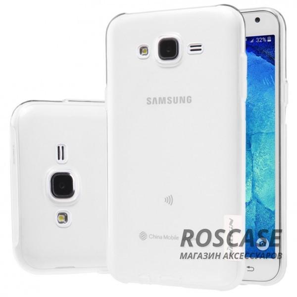 Мягкий прозрачный силиконовый чехол для Samsung J700H Galaxy J7 (Бесцветный (прозрачный))Описание:производитель  -  бренд&amp;nbsp;Nillkin;совместим с Samsung J700H Galaxy J7;материал  -  термополиуретан;тип  -  накладка.&amp;nbsp;Особенности:в наличии все вырезы;не скользит в руках;тонкий дизайн;защита от ударов и царапин;прозрачный.<br><br>Тип: Чехол<br>Бренд: Nillkin<br>Материал: TPU