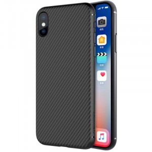 "Nillkin Synthetic Fiber | Карбоновый чехол для Apple iPhone X (5.8"")/XS (5.8"")"