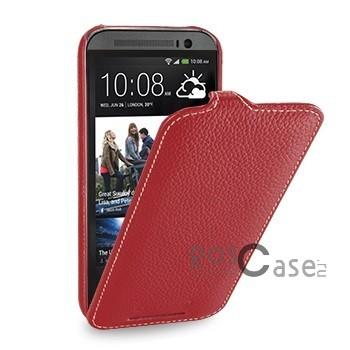 фото кожаного чехла-флип TETDED для HTC New One / M8