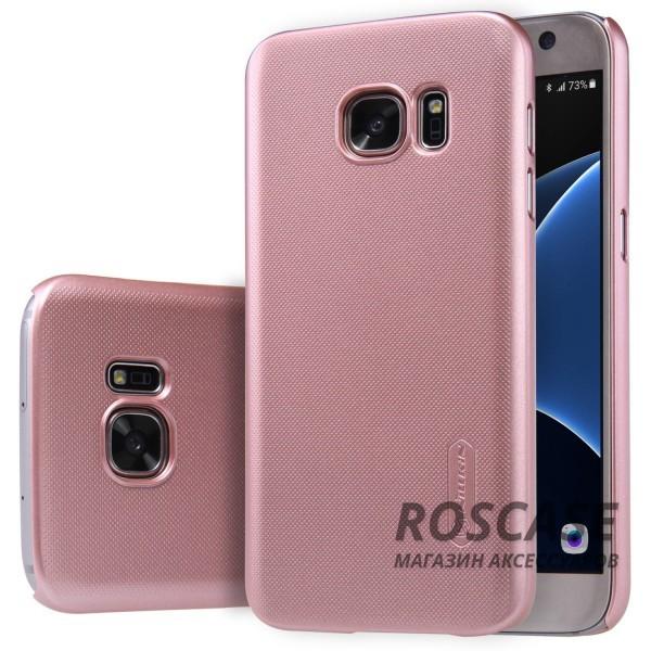 Чехол Nillkin Matte для Samsung G930F Galaxy S7 (+ пленка) (Rose Gold)Описание:производитель -&amp;nbsp;Nillkin;материал - поликарбонат;совместим с Samsung G930F Galaxy S7;тип - накладка.&amp;nbsp;Особенности:матовый;прочный;тонкий дизайн;не скользит в руках;не выцветает;пленка в комплекте.<br><br>Тип: Чехол<br>Бренд: Nillkin<br>Материал: Поликарбонат