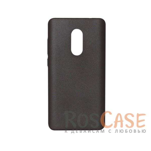 Матовая soft-touch накладка Joyroom из ударостойкого пластика с дополнительной защитой углов для Xiaomi Redmi Note 4 (MTK) (Черный)Описание:бренд - Joyroom;совместимость - Xiaomi Redmi Note 4 (MTK);материал - пластик;тип - накладка.<br><br>Тип: Чехол<br>Бренд: Epik<br>Материал: Пластик