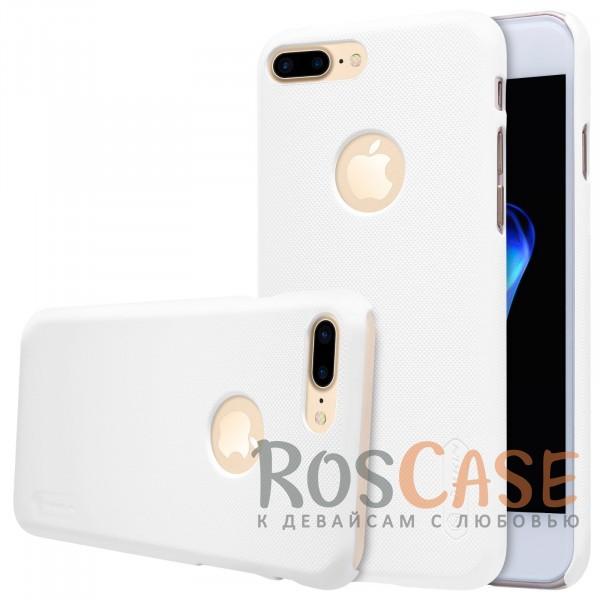 Чехол Nillkin Matte для Apple iPhone 7 plus (5.5) (+ пленка) (Белый)Описание:бренд&amp;nbsp;Nillkin;спроектирована для&amp;nbsp;Apple iPhone 7 plus (5.5);материал - поликарбонат;тип - накладка.Особенности:фактурная поверхность;защита от ударов и царапин;тонкий дизайн;наличие функциональных вырезов;пленка на экран в комплекте.<br><br>Тип: Чехол<br>Бренд: Nillkin<br>Материал: Поликарбонат