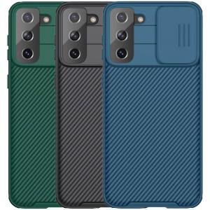 Nillkin CamShield Pro | Чехол из пластика и TPU с защитой камеры для Samsung Galaxy S21 Plus