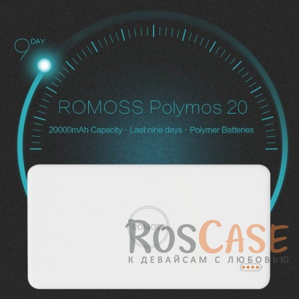 Фото Портативное зарядное устройство Power Bank ROMOSS Polymos 20 (PB20-405-01) (20000mAh)