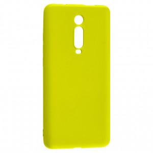 Силиконовый матовый однотонный чехол  для Xiaomi Mi 9T (Pro) / Redmi K20 (Pro)