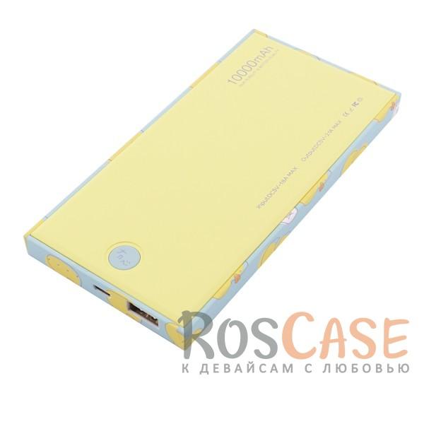 Фотография Утенок Желтый Maoxin | Портативное зарядное устройство Power Bank с острыми краями 10000mAh (1 USB 2.1A)
