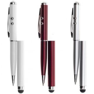 Емкостной стилус ручка RHDS с фонариком и указкой
