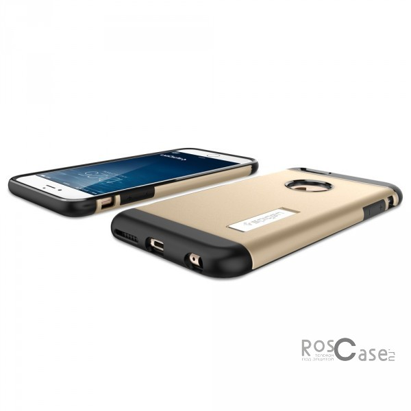 "Фото Золотой / Champagne Gold / SGP10907 SGP Slim Armor | Тонкий чехол для Apple iPhone 6/6s plus (5.5"") из пластика"