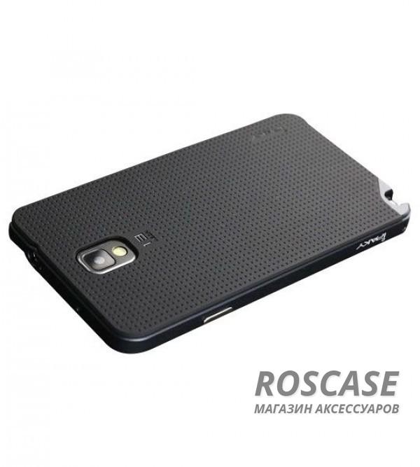 Чехол iPaky TPU+PC для Samsung N9000/N9002 Galaxy Note 3 (Черный / Серый)Описание:компания разработчик: iPaky;совместимость с устройством модели: Samsung N9000/N9002 Galaxy Note 3;материал изделия: термопластический полиуретан, поликарбонат;конфигурация: накладка-бампер.Особенности:высокий класс прочности и износоустойчивости;матовая точечная текстура;легко и надежно фиксируется на смартфоне;имеет все необходимые функциональные вырезы.<br><br>Тип: Чехол<br>Бренд: Epik<br>Материал: TPU