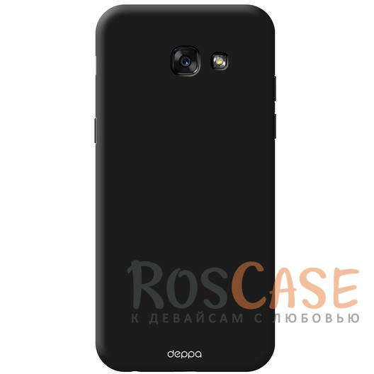 Чехол Air Case Deppa (soft touch) для Samsung A720 Galaxy A7 (2017) (Черный)Описание:компания Deppa;создан для модели устройства Samsung A720 Galaxy A7 (2017);материал - поликарбонат;тип - накладка.<br><br>Тип: Чехол<br>Бренд: Noreve<br>Материал: Поликарбонат