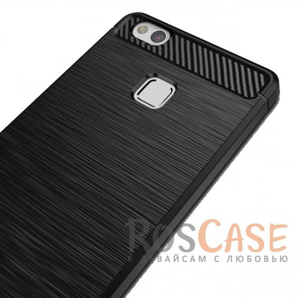 Фотография Черный iPaky Slim | Силиконовый чехол для Huawei P10 Lite