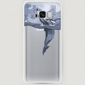 RosCase | Силиконовый чехол Два измерения на Samsung G955 Galaxy S8 Plus