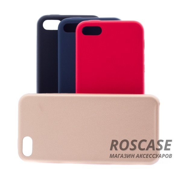 Фотография Ультратонкая кожаная PU накладка для Apple iPhone 5/5S/SE