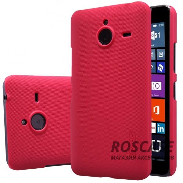 Чехол Nillkin Matte для Microsoft Lumia 640XL (+ пленка) (Красный)Описание:производитель - компания&amp;nbsp;Nillkin;материал - поликарбонат;совместим с Microsoft Lumia 640XL;тип - накладка.&amp;nbsp;Особенности:матовый;прочный;тонкий дизайн;не скользит в руках;не выцветает;пленка в комплекте.<br><br>Тип: Чехол<br>Бренд: Nillkin<br>Материал: Поликарбонат
