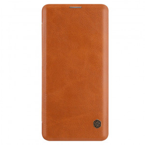 Nillkin Qin | Кожаный чехол книжка для Samsung Galaxy S10e