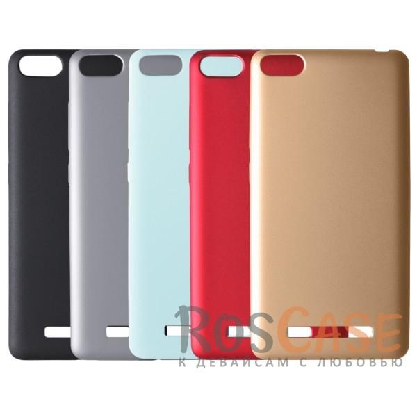 Пластиковая накладка soft-touch с защитой торцов Joyroom для Xiaomi Mi 4i / Mi 4c<br><br>Тип: Чехол<br>Бренд: Epik<br>Материал: Пластик