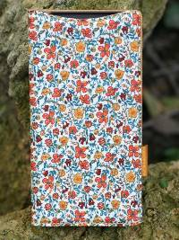 Чехол AVOC Liberty Diary для Sony Xperia Z2 (L50) (Orange / H Meadow)