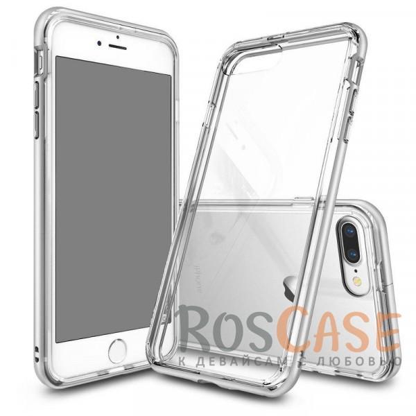 Двухкомпонентный противоударный чехол Ringke Fusion с силиконовым бампером и защитными бортиками вокруг экрана для Apple iPhone 7 plus / 8 plus (5.5) (Бесцветный (прозрачный))Описание:совместимость -&amp;nbsp;Apple iPhone 7 plus / 8 plus (5.5);материалы - термополиуретан, поликарбонат;тип - накладка;защита от царапин, сколов, трещин;защита камеры и экрана;не скользит в руках;ультратонкий дизайн;все необходимые вырезы.<br><br>Тип: Чехол<br>Бренд: Epik<br>Материал: Поликарбонат