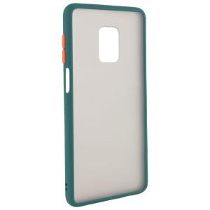 Противоударный матовый полупрозрачный чехол  для Xiaomi Redmi Note 9S