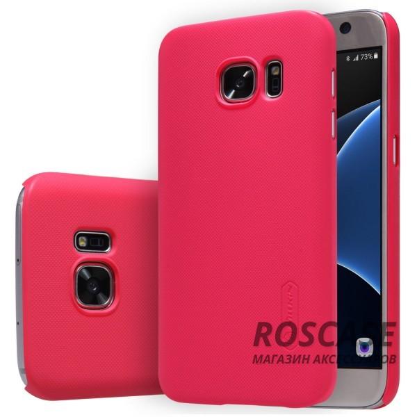 Чехол Nillkin Matte для Samsung G930F Galaxy S7 (+ пленка) (Красный)Описание:производитель -&amp;nbsp;Nillkin;материал - поликарбонат;совместим с Samsung G930F Galaxy S7;тип - накладка.&amp;nbsp;Особенности:матовый;прочный;тонкий дизайн;не скользит в руках;не выцветает;пленка в комплекте.<br><br>Тип: Чехол<br>Бренд: Nillkin<br>Материал: Поликарбонат