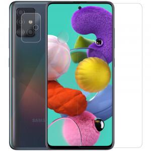Nillkin Crystal | Защитная пленка Анти-отпечатки  для Samsung Galaxy A51