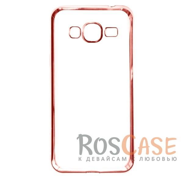 Прозрачный силиконовый чехол для Samsung J320F Galaxy J3 (2016) с глянцевой окантовкой (Розовый)Описание:подходит для Samsung J320F Galaxy J3 (2016);материал - силикон;тип - накладка.Особенности:глянцевая окантовка;прозрачный центр;гибкий;все вырезы в наличии;не скользит в руках;ультратонкий.<br><br>Тип: Чехол<br>Бренд: Epik<br>Материал: Силикон