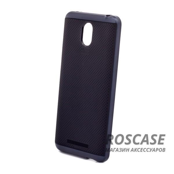 Фотография Черный / Серый iPaky Hybrid | Противоударный чехол для Xiaomi Redmi Note 2 / Redmi Note 2 Prime