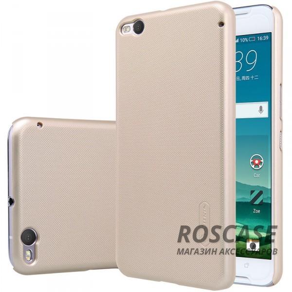 Чехол Nillkin Matte для HTC One X9 (+ пленка) (Золотой)Описание:производитель -&amp;nbsp;Nillkin;материал - поликарбонат;совместим с Asus;тип - накладка.&amp;nbsp;Особенности:матовый;прочный;тонкий дизайн;не скользит в руках;не выцветает;пленка в комплекте.<br><br>Тип: Чехол<br>Бренд: Nillkin<br>Материал: Поликарбонат