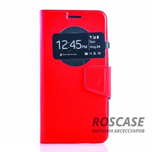 Чехол (книжка) с TPU креплением для Asus Zenfone 5 (A501CG) (Красный)Описание:разработан компанией&amp;nbsp;Epik;спроектирован для Asus Zenfone 5 (A501CG);материал: синтетическая кожа;тип: чехол-книжка.&amp;nbsp;Особенности:имеются все функциональные вырезы;магнитная застежка закрывает обложку;защита от ударов и падений;в обложке есть окошко;превращается в подставку.<br><br>Тип: Чехол<br>Бренд: Epik<br>Материал: Искусственная кожа