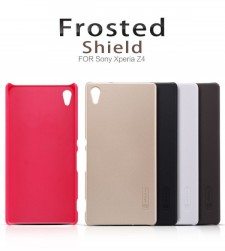 фото Матовый чехол Nillkin Super Frosted Shield для Sony Xperia Z3+/Xperia Z3+ Dual (+ пленка)