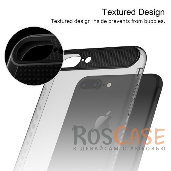 """Фото Черный / Transparent black Rock Ace   Силиконовый чехол для Apple iPhone 7 plus / 8 plus (5.5"""") с матовой пластиковой вставкой"""
