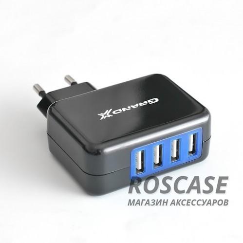 изображение сетевое ЗУ Grand-X 4-USB 5V 4.3A (CH-995)