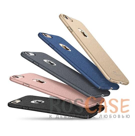 Пластиковый чехол Msvii Quicksand series для Apple iPhone 7 (4.7)Описание:производитель - Msvii;совместим с Apple iPhone 7 (4.7);материал  -  пластик;тип  -  накладка.&amp;nbsp;Особенности:матовая поверхность;имеет все разъемы;тонкий дизайн не увеличивает габариты;накладка не скользит;защищает от ударов и царапин;износостойкая.<br><br>Тип: Чехол<br>Бренд: Epik<br>Материал: Пластик