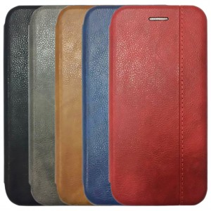 Open Color 2 | Чехол-книжка на магните для Xiaomi Redmi S2 с подставкой и внутренним карманом