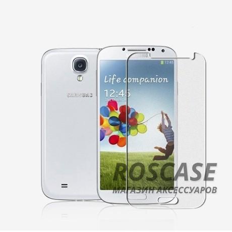 Защитная пленка Nillkin для Samsung i9500 Galaxy S4 (Матовая)Описание:бренд: Nillkin;совместим с Samsung i9500 Galaxy S4;используемые материалы: полимер;тип: матовая защитная пленка.&amp;nbsp;Особенности:все необходимые функциональные вырезы;матовая поверхность;не влияет на сенсорику;легко очищается;на ней не остаются потожировые следы от пальцев.<br><br>Тип: Защитная пленка<br>Бренд: TETDED