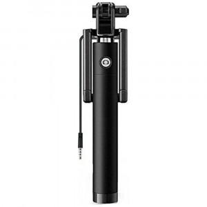 Телескопический монопод для селфи с проводом 3,5 для смартфона (78 см) (Уценка)