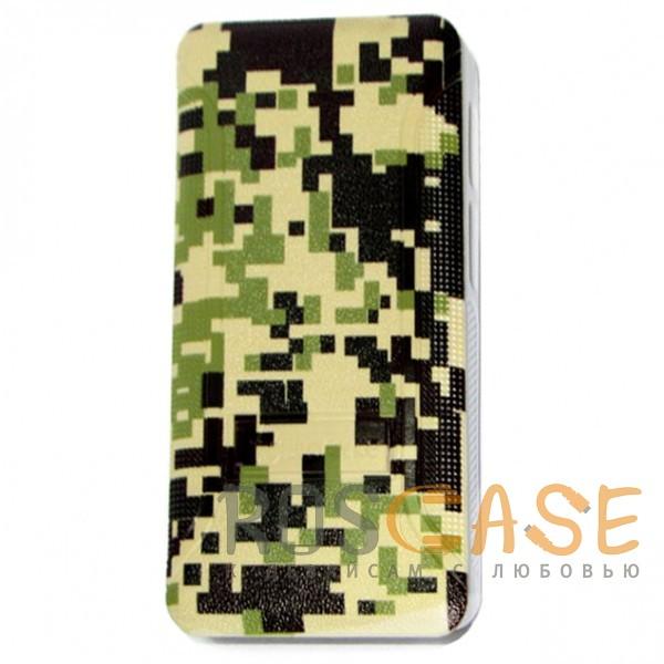 Фото Мозайка-камуфляж  Jidanke   Универсальный чехол-накладка с силиконовым бампером для смартфонов диагональю 4,3-4,7 дюймов