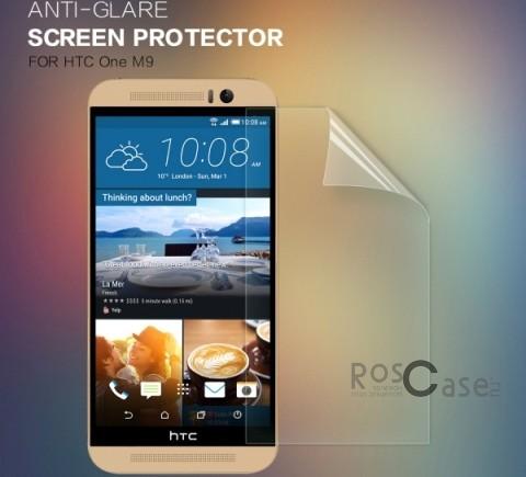 Защитная пленка Nillkin для HTC One / M9Описание:бренд:&amp;nbsp;Nillkin;совместима с HTC One / M9;используемые материалы: полимер;тип: защитная пленка.&amp;nbsp;Особенности:антибликовое покрытие;не влияет на чувствительность сенсора;легко очищается;не желтеет;не бликует на солнце.<br><br>Тип: Защитная пленка<br>Бренд: Nillkin