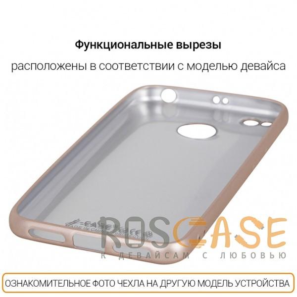 Фотография Золотой J-Case THIN | Гибкий силиконовый чехол для Samsung Galaxy Note 8