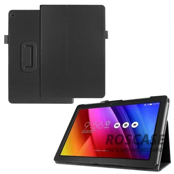 Кожаный чехол-книжка TTX с функцией подставки для Asus ZenPad 10 (Z300C/Z300CG/Z300CL) (Черный)Описание:производитель  - &amp;nbsp;TTX;разработан специально для Asus ZenPad 10 (Z300C/Z300CG/Z300CL);материалы  -  кожзам и микрофибра;форма  -  чехол-книжка.&amp;nbsp;Особенности:материал не скользит;трансформируется в поставку;защищает от внешний воздействий;долгий срок службы.<br><br>Тип: Чехол<br>Бренд: TTX<br>Материал: Искусственная кожа