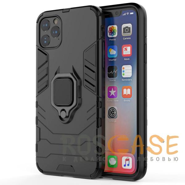 Фото Черный Transformer Ring   Противоударный чехол под магнитный держатель для iPhone 12 Pro Max