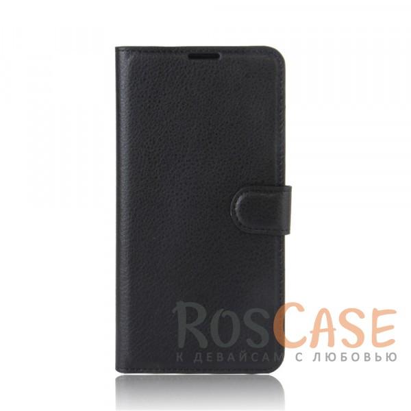 Гладкий кожаный чехол-бумажник на магнитной застежке Wallet с функцией подставки и внутренними карманами для Xiaomi Redmi Note 4X / Note 4 (SD) (Черный)Описание:совместим с Xiaomi Redmi Note 4X / Note 4 (SD);материалы  -  искусственная кожа, TPU;форма  -  чехол-книжка;фактурная поверхность;предусмотрены все функциональные вырезы;кармашки для визиток/кредитных карт/купюр;магнитная застежка;защита от механических повреждений.<br><br>Тип: Чехол<br>Бренд: Epik<br>Материал: Искусственная кожа