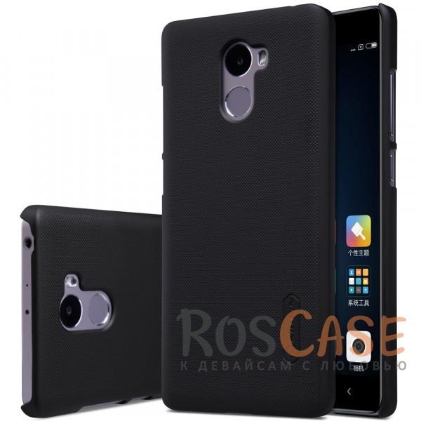 Чехол Nillkin Matte для Xiaomi Redmi 4 (+ пленка) (Черный)<br><br>Тип: Чехол<br>Бренд: Nillkin<br>Материал: Поликарбонат