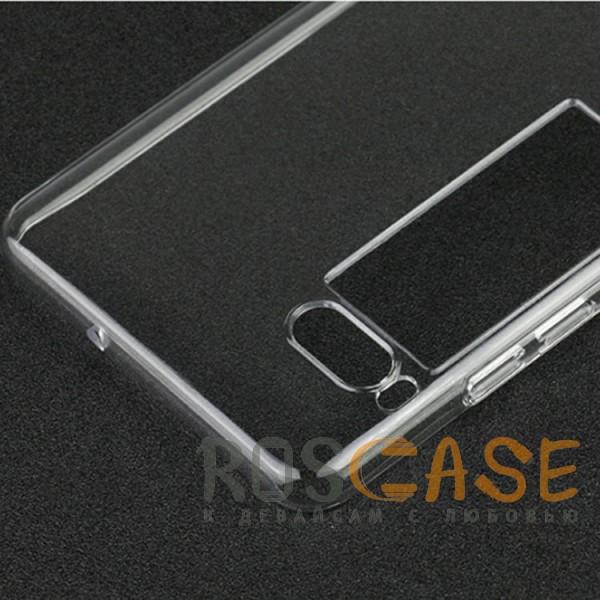 Фото Бесцветный (прозрачный) Ультратонкий силиконовый чехол для Meizu Pro 7