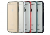 "ROCK Duplex Slim Guard | Ультратонкий бампер для Apple iPhone 6/6s plus (5.5"") из прочного пластика"