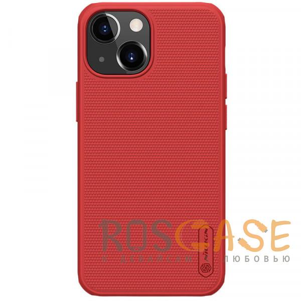 Фото Красный Nillkin Super Frosted Shield Pro | Матовый пластиковый чехол для iPhone 13 Mini