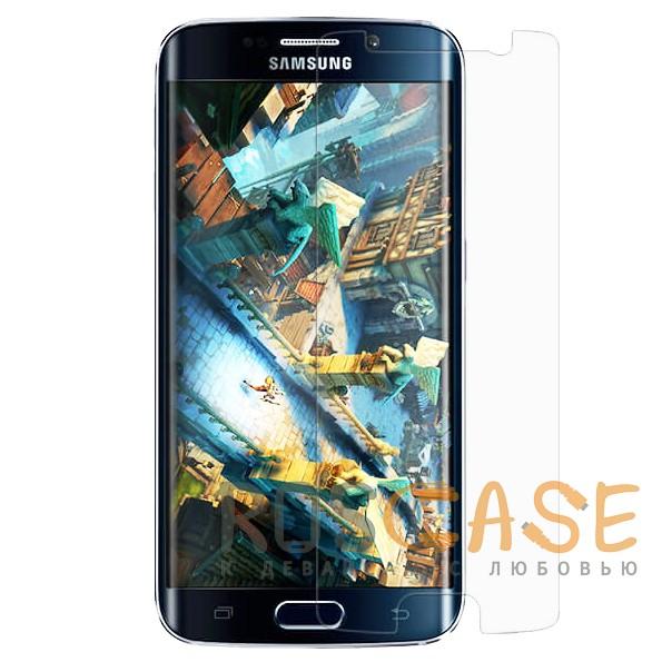 Nillkin Crystal | Прозрачная защитная пленка для Samsung G925F Galaxy S6 EdgeОписание:бренд:&amp;nbsp;Nillkin;совместима с Samsung G925F Galaxy S6 Edge;материал: полимер;тип: защитная пленка.&amp;nbsp;Особенности:пленка закрывает только центральную часть экрана;в наличии все необходимые функциональные вырезы;не влияет на чувствительность сенсора;глянцевая поверхность;свойство анти-отпечатки;не желтеет;легко очищается.<br><br>Тип: Защитная пленка<br>Бренд: Nillkin